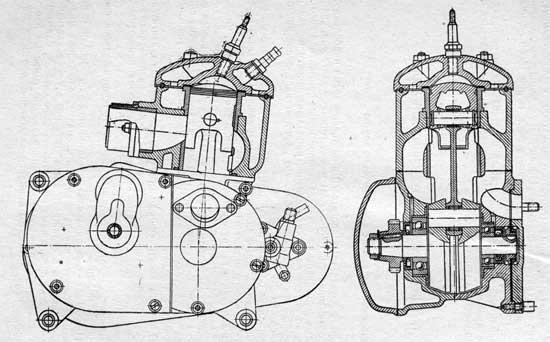 Схема двигателя C2-125