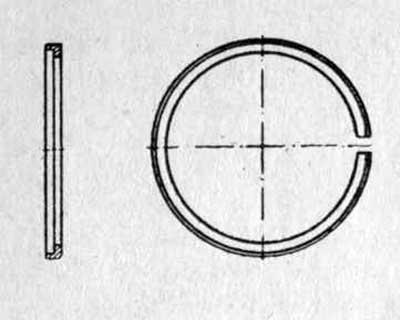 L-образное поршневое кольцо двигателя Бультако