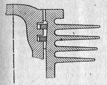 Износ цилиндра в верхней части