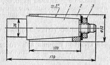 Притир для диаметра цилиндра 52 мм