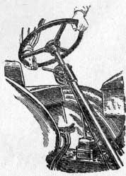 Проверка осевого зазора в подшипниках червяка рулевого управления