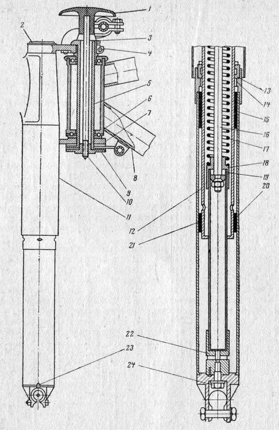 Ремонт передних амортизаторов на минске своими руками