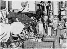 Пуск пускового двигателя