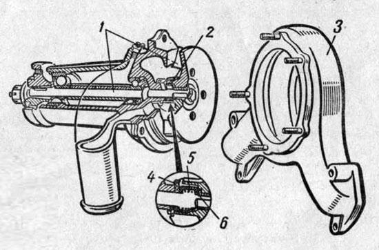 Схема работы парового и воздушного клапанов