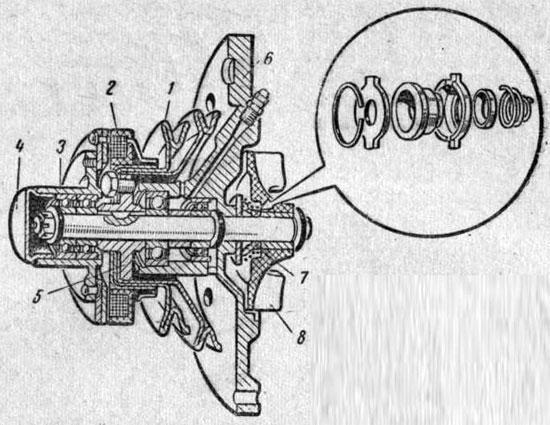 Электромагнитная муфта включения вентилятора