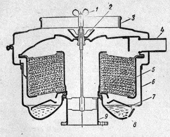 Инерционно-масляный воздушный