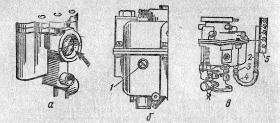 камере карбюратора