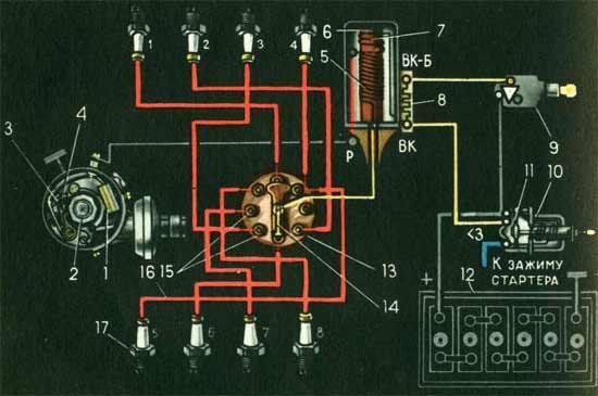 генератор с тиристорным схема. ваз 21053 схема снятия замка зажигания.