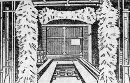 Вихревая трехступенчатая моечная машина