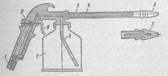 Пневматический пульверизатор
