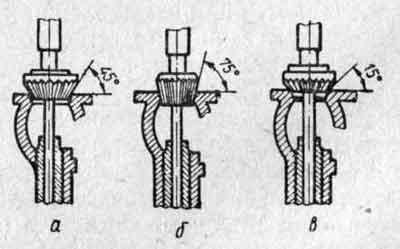 Набор фрез для ремонта клапанов