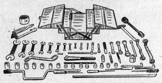 Комплект инструмента автослесаря