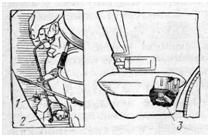 Сливные краники системы охлаждения двигателя