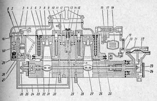 Схема карбюратора К-126Б