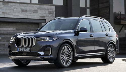 BMW X7 – роскошный и безопасный внедорожник