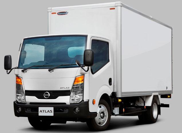 Nissan грузовик