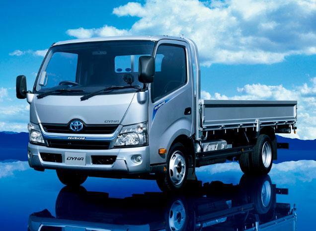 грузовик Toyota