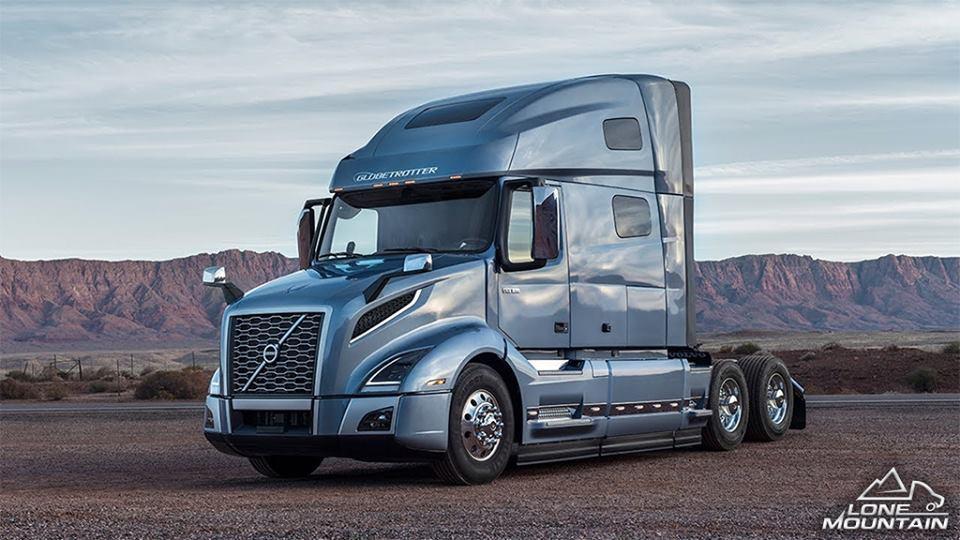 Грузовые фургоны Volvo