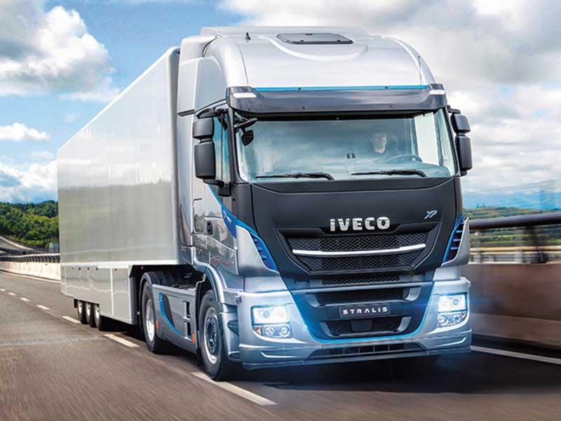 Грузовые фургоны Iveco