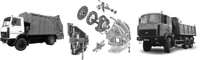 Ремонт сцепления на грузовом автомобиле