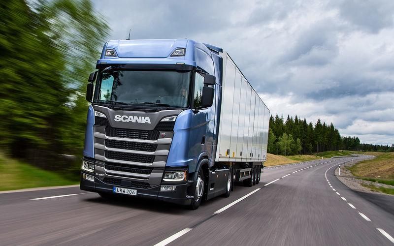 Грузовые фургоны Scania