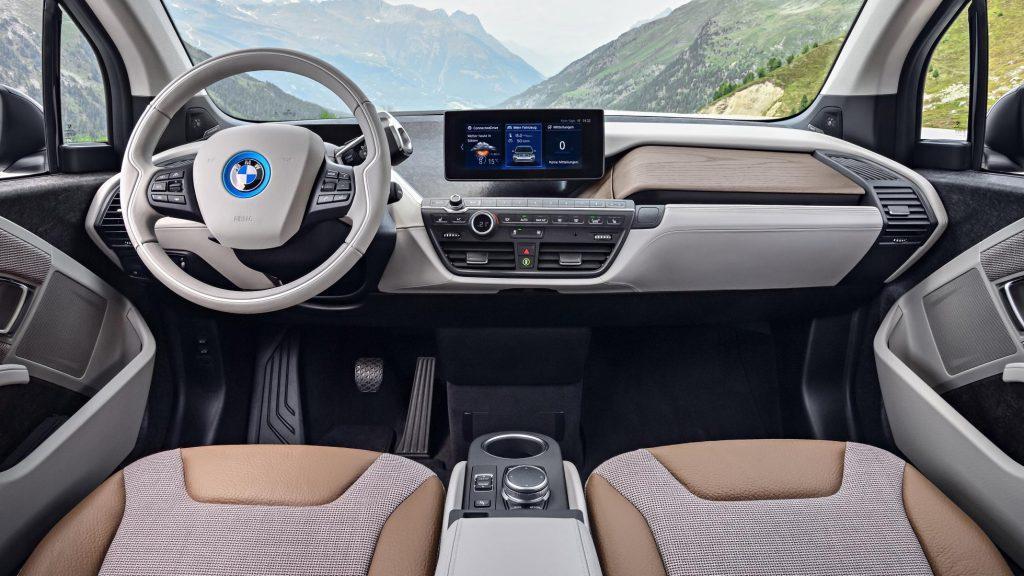 BMW i3 внутри