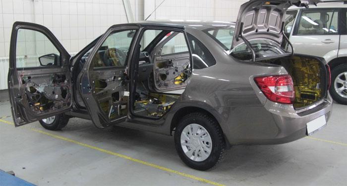 Стандарты шумоизоляции автомобиля