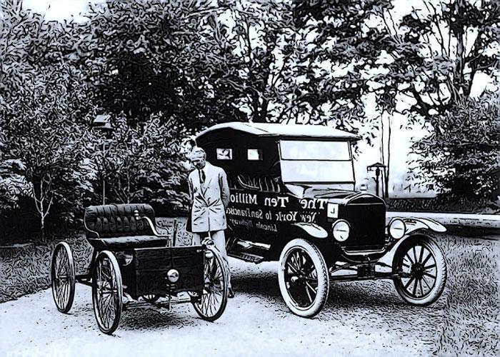 История до бензиновых автомобилей