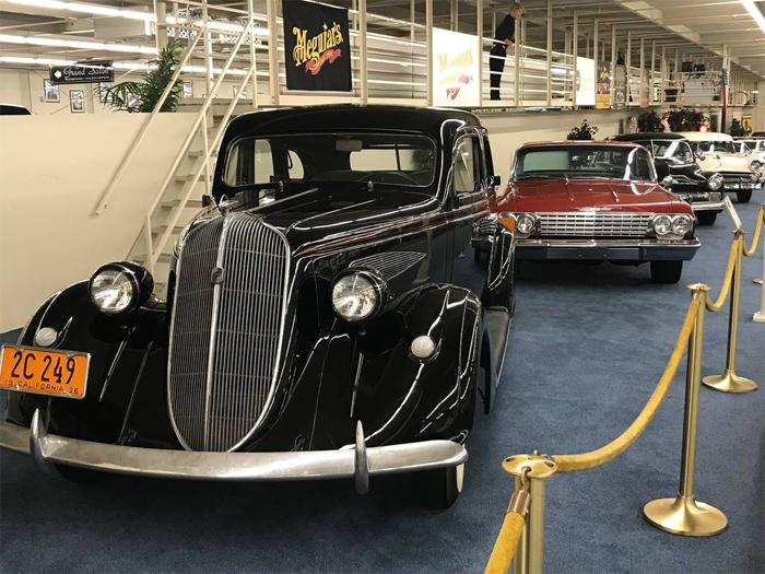 Музей винтажных автомобилей в Лас Вегасе