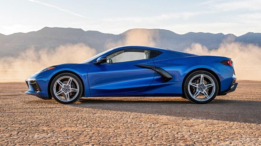 Встречайте Chevrolet C8 Corvette '2020