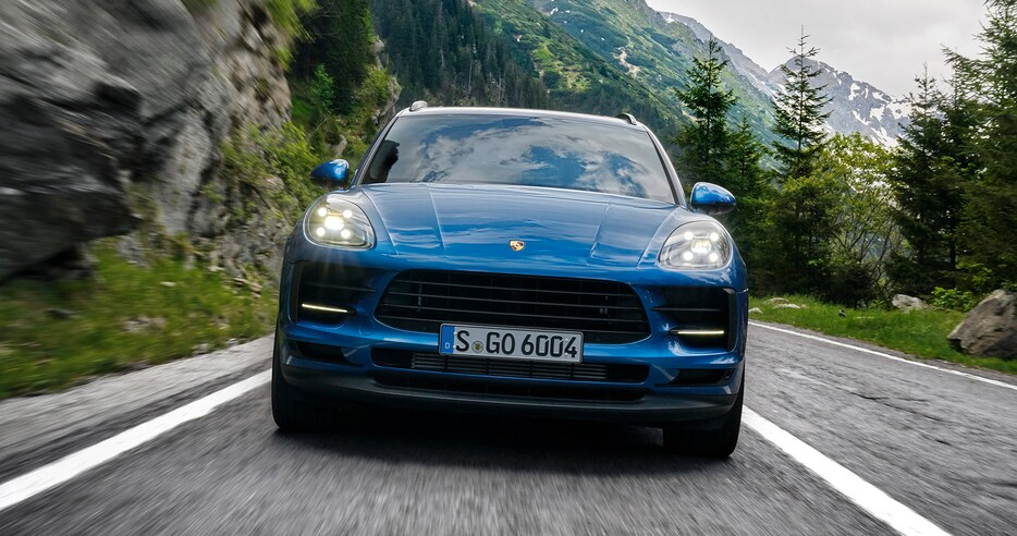 Porsche представляет электрический Macan