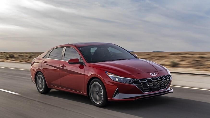 Hyundai представляет седан Elantra '2021
