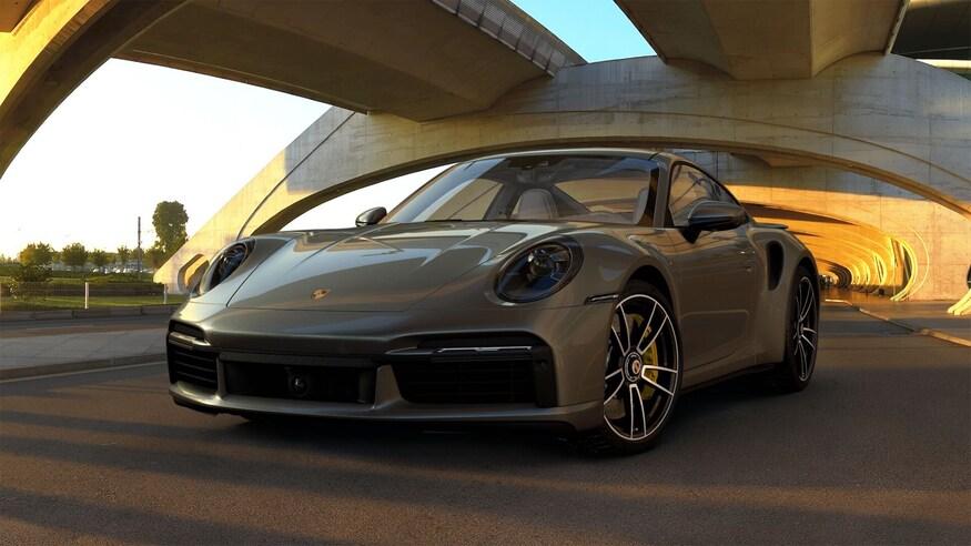 Porsche представляет 911 Turbo S