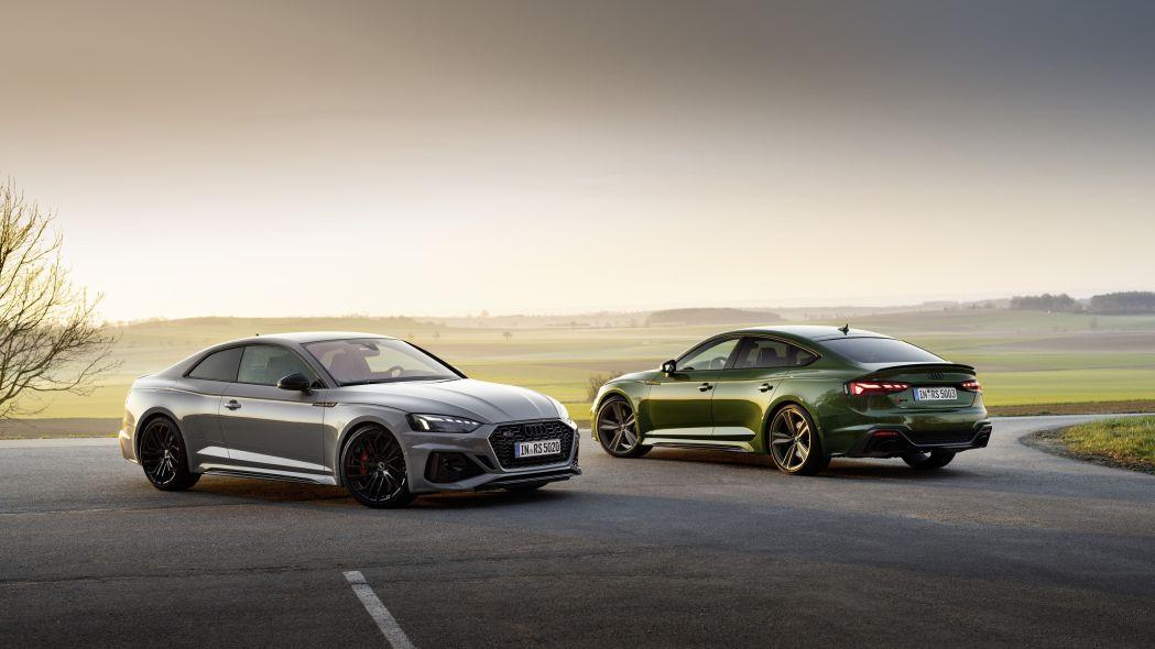 Audi представляет обновленный RS 5