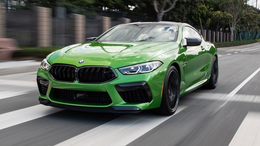 BMW представляет купе M8