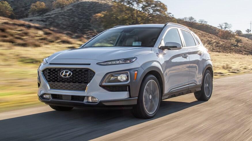 Hyundai представляет обновленные вариации Kona