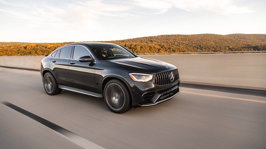 Mercedes AMG GLC 63 S Coupe