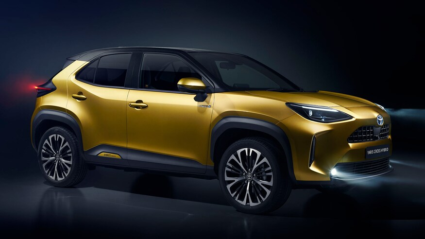 Toyota представляет гибрид Yaris Cross
