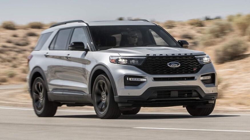Ford представляет обновленный Explorer