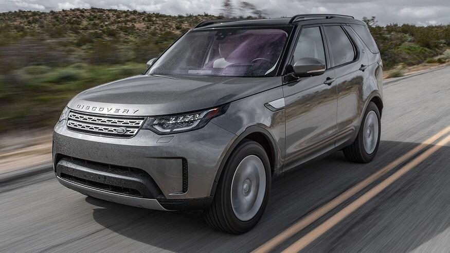 Land Rover представляет обновленный внедорожник Discovery