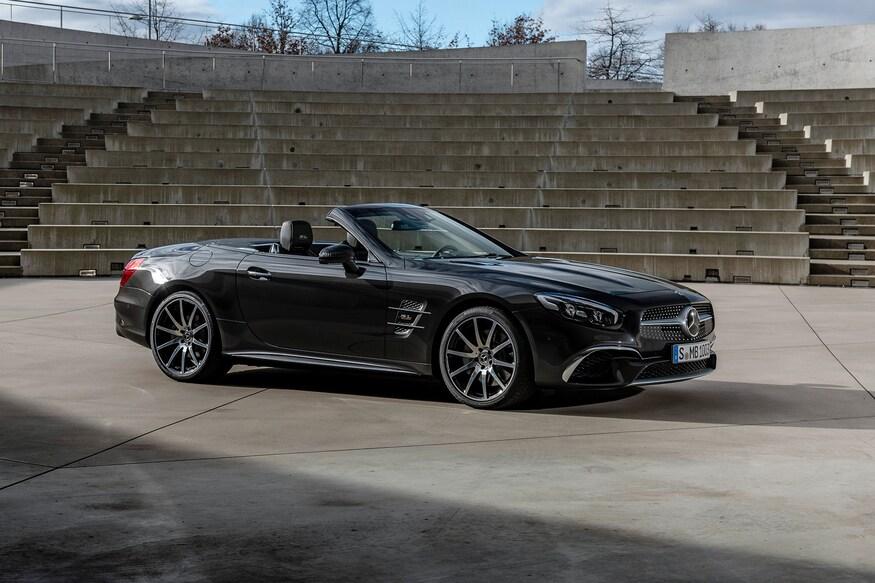 Mercedes-Benz представляет обновленный SL