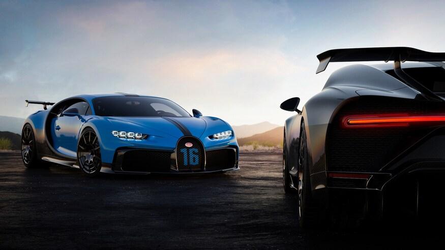 Bugatti представляет Chiron