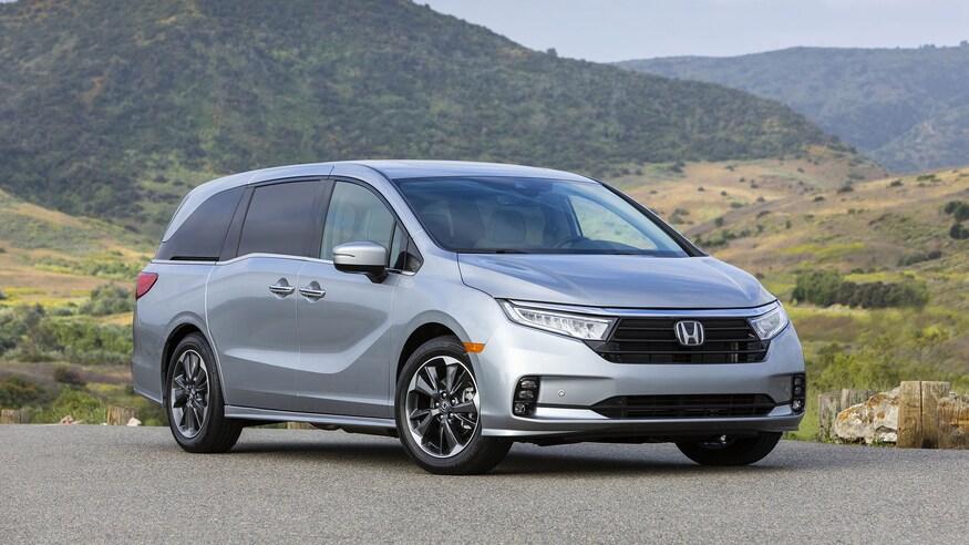 Honda представляет обновленный Odyssey