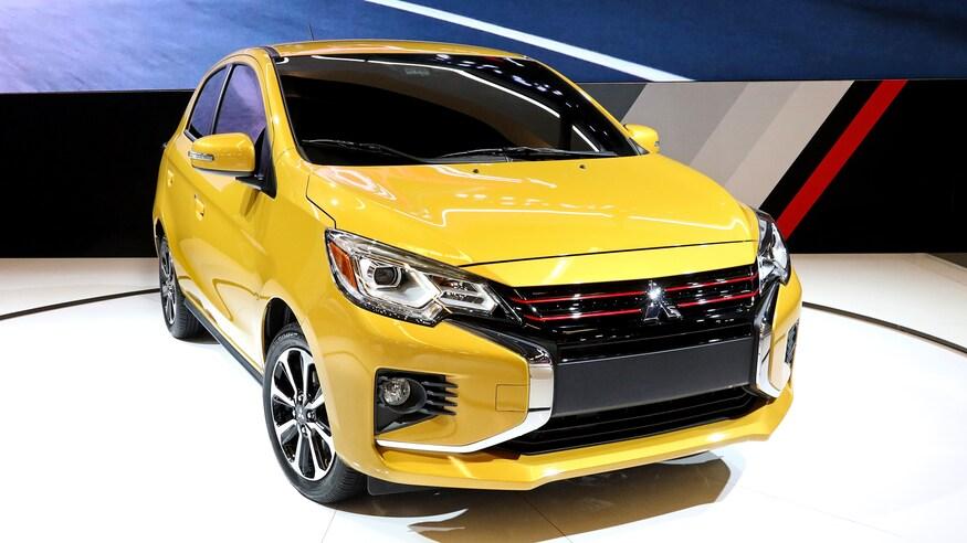 Mitsubishi представляет обновленный Mirage