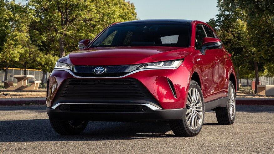 Toyota представила внедорожник Venza