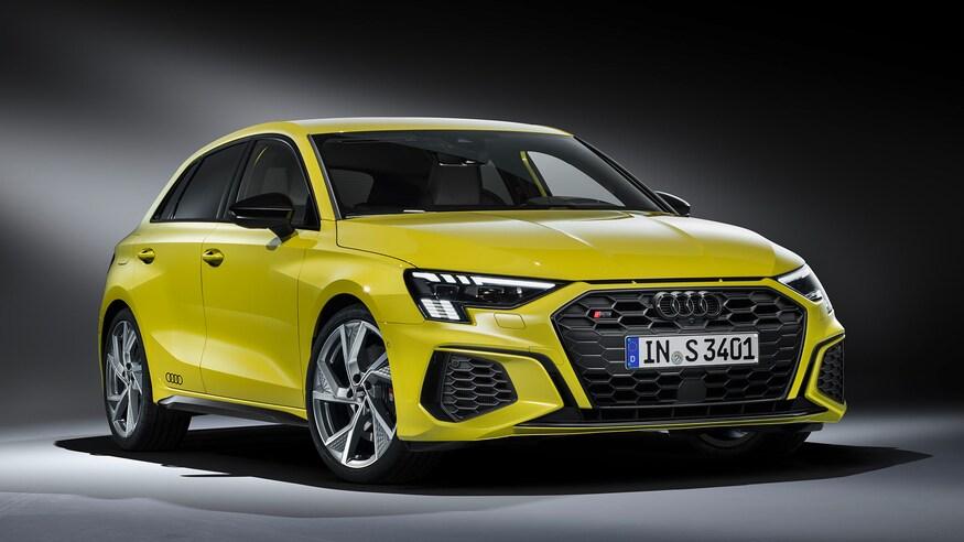 Audi представляет обновленный седан S3