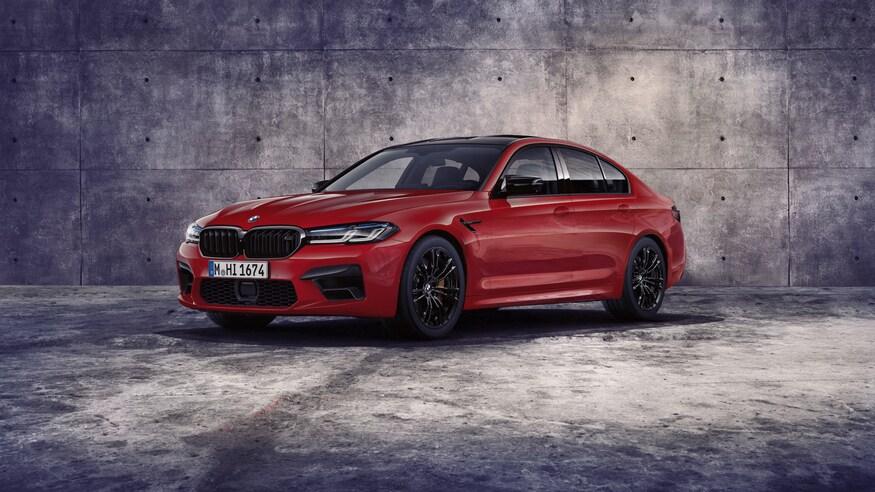 BMW обещает сделать M5 электрическим суперседаном