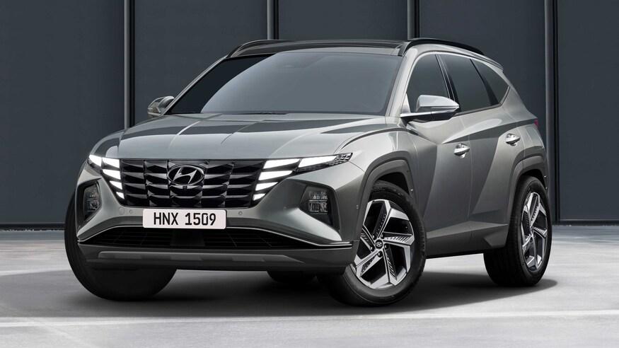 Hyundai представляет Tucson 2022 года