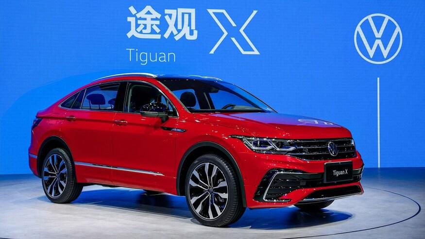 VW представляет обновленный Tiguan X
