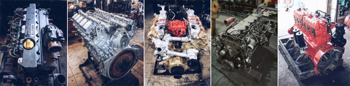 Ремонт двигателей грузовиков по доступной цене